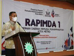 Wakil Walikota Buka Rapimda Pemuda Muhammadiyah Kota Metro